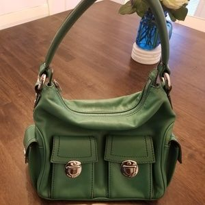 Marc Jacobs Green Leather Purse